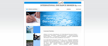 L+O INTERNATIONAL INSURANCE BROKER SP Z O O